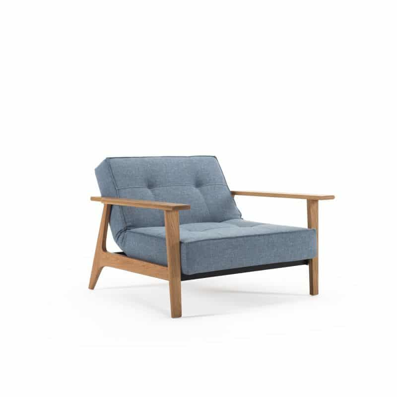 Splitback Frej Chair 525 Mixed Dance Light Blue 3
