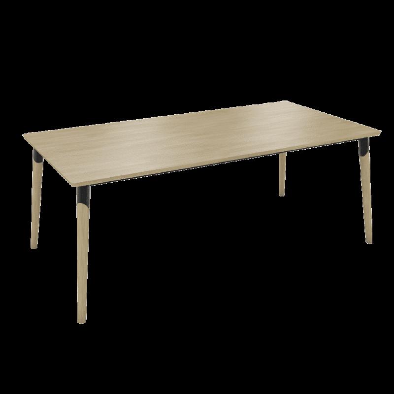 Table Core Pieds Bois