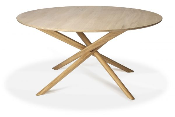 Table Mikado Ronde Chêne