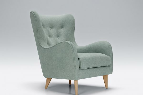 Pola Shadow Armchair Vireal7 Light Turquoise 2 0